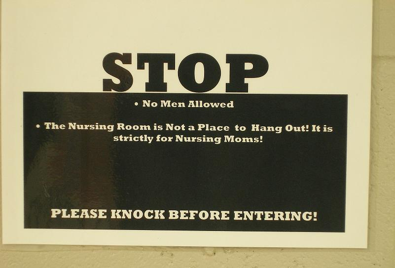 nursing mothers only