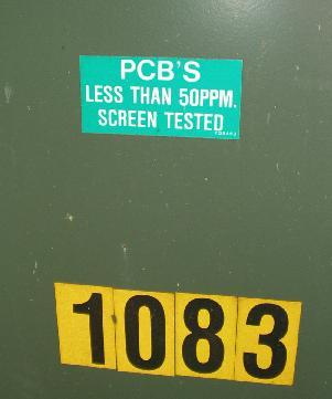 PCB warning on transformer